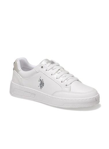 U.S. Polo Assn. Soleta 1Fx Kadın Sneaker Beyaz